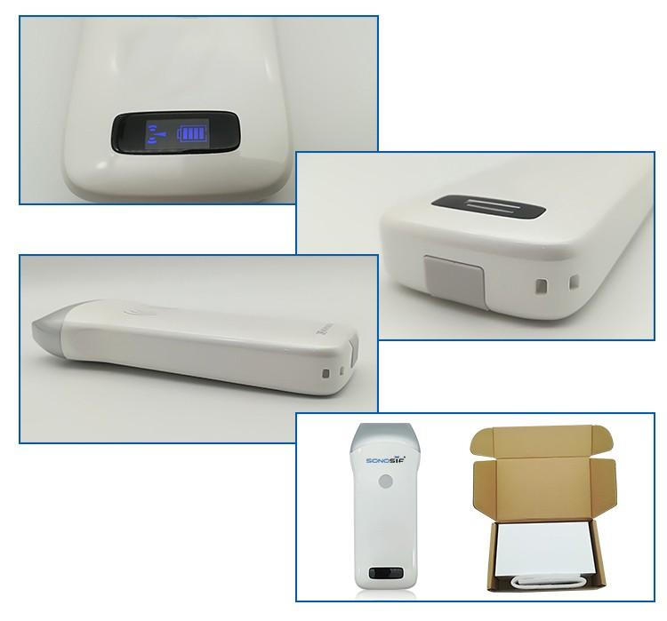 Wireless Linear 7.5Mhz Ultrasound Scanner