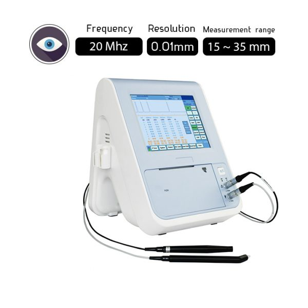 Ophthalmic A-Scan Ultrasound / Eye Ultrasound Scanner 20Mhz
